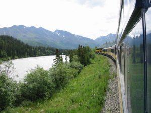Denali, Alaska RR back to Anchorage
