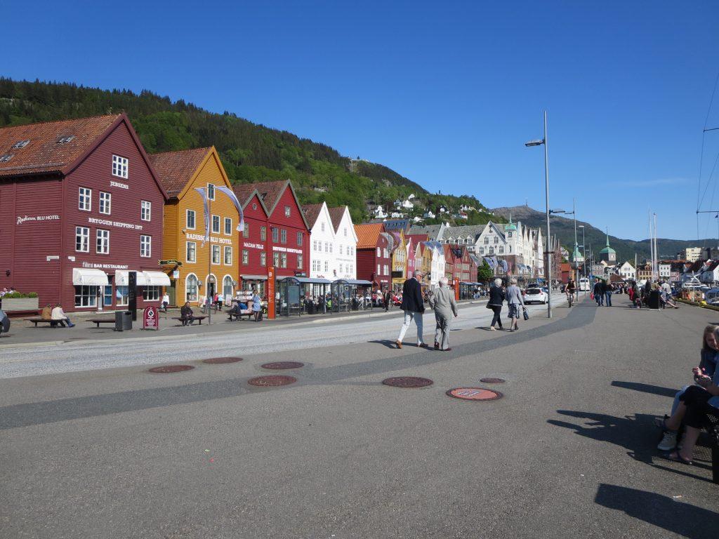 Belgium, Netherlands, and Norway: Bryggen, in Bergen, Norway