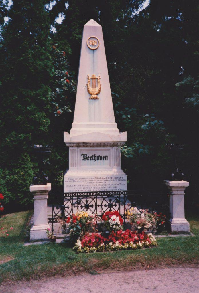 Beethoven tomb