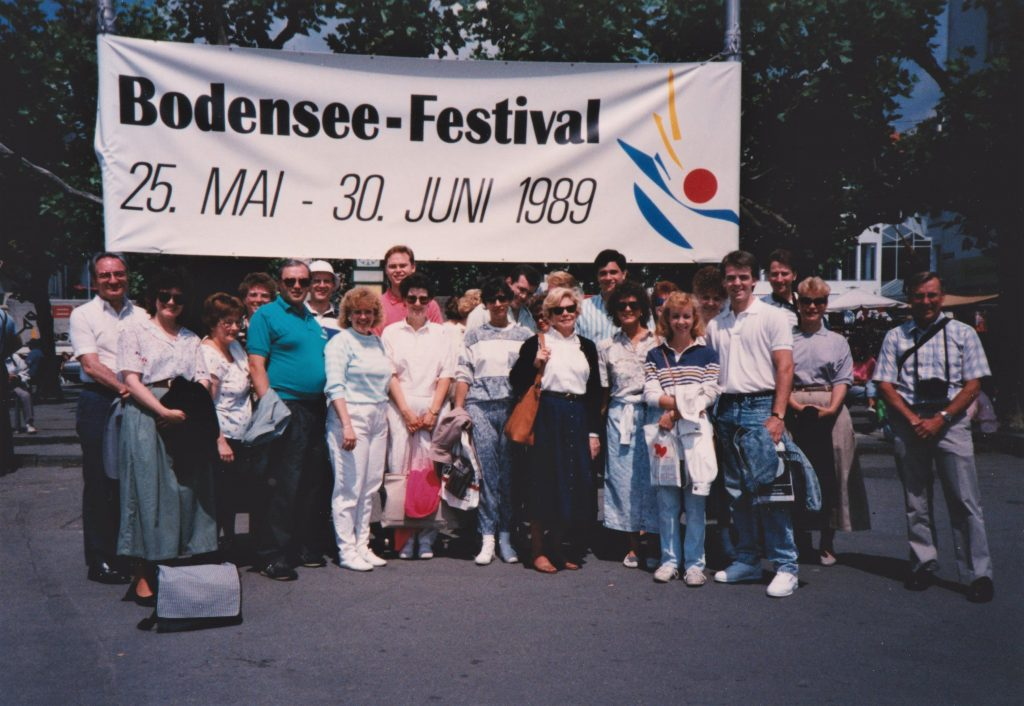Bradley Alumni Choir, Friedrichshafen