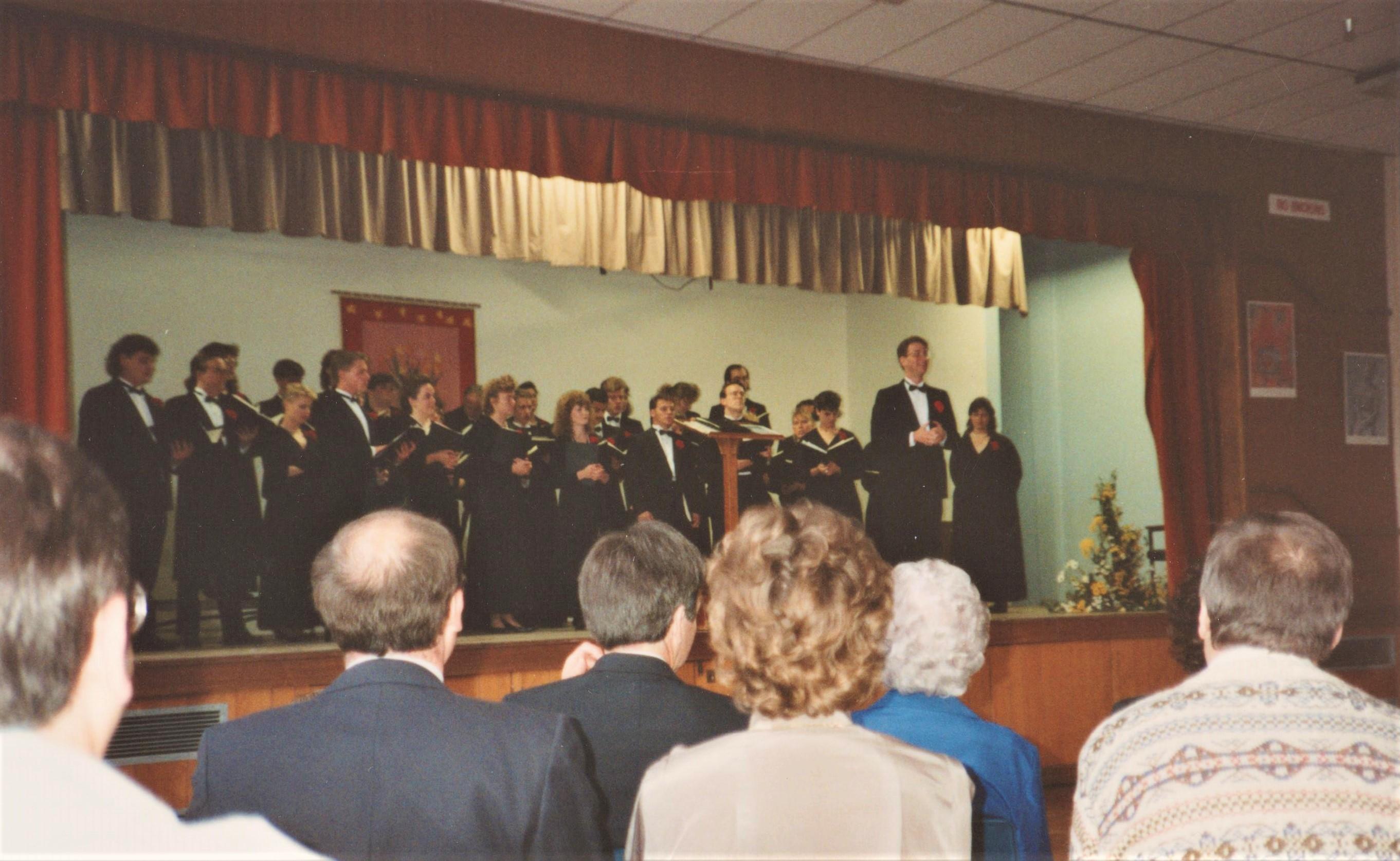 EC Chorale Concert Colwyn Bay