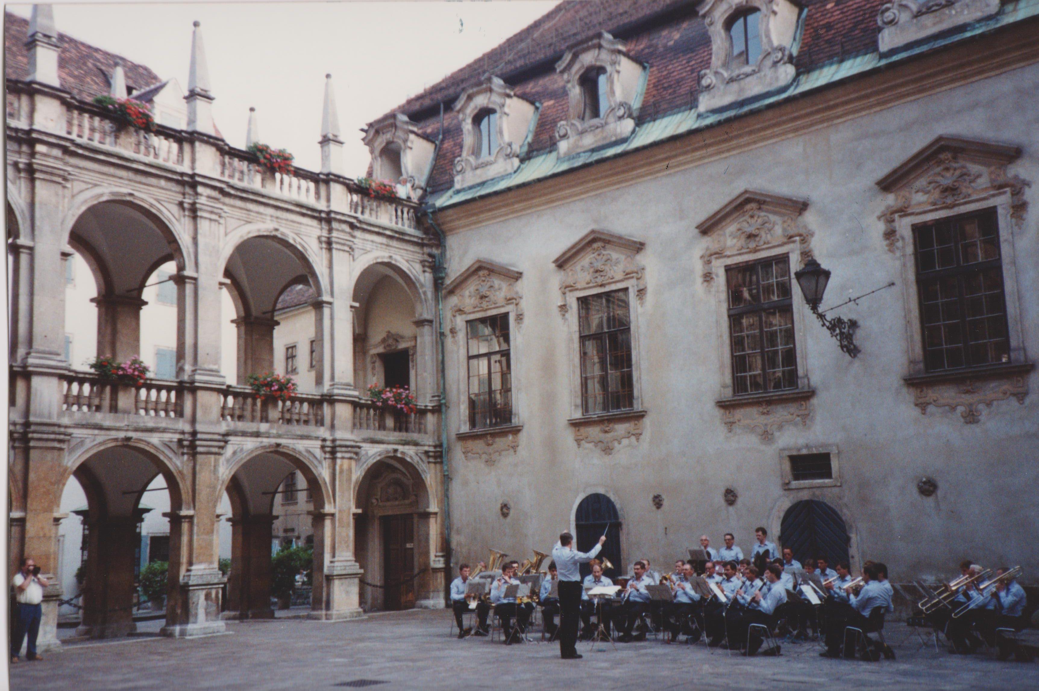 Graz Landhaus courtyard