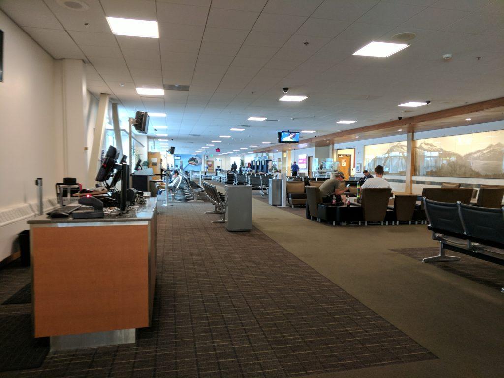 Juneau airport concourse