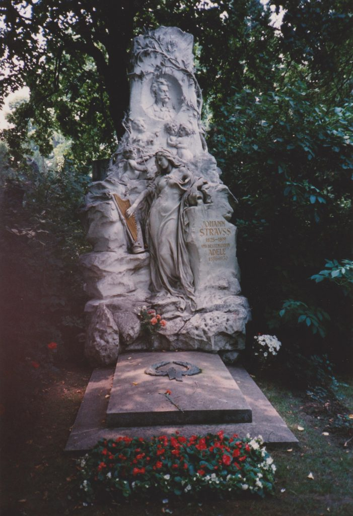 Johann Strauss tomb