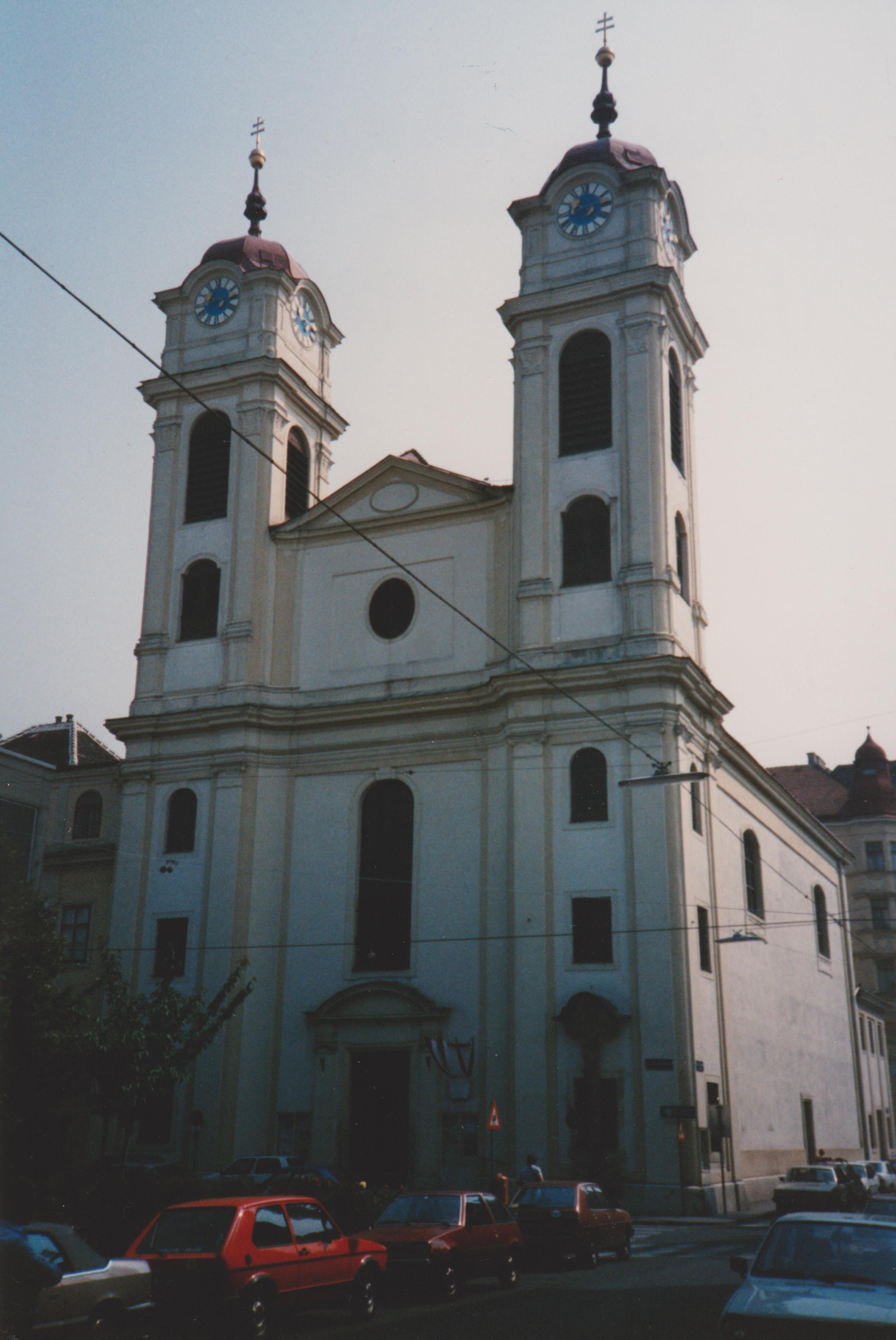 Lichtental church Vienna, where Schubert was organist