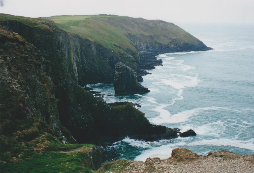South coast of Ireland