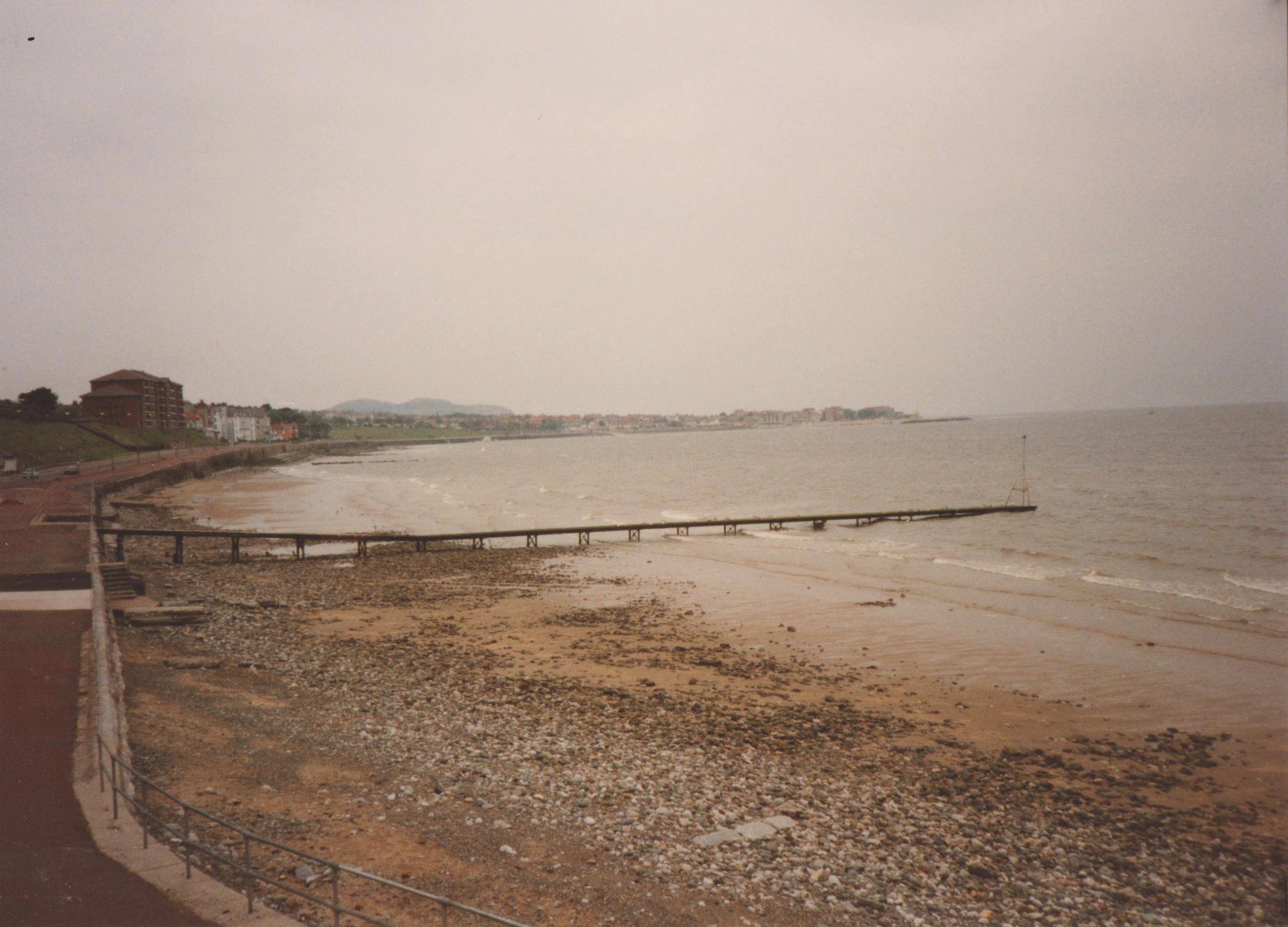 Irish Sea at Colwyn Bay