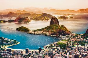 Flying down (or across) to Rio