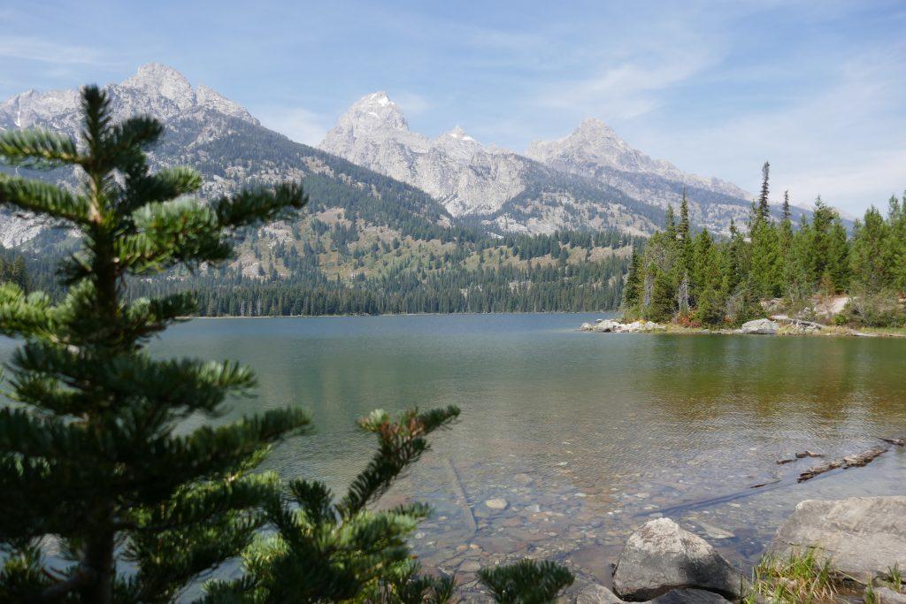 Taggart Lake and Grand Tetons