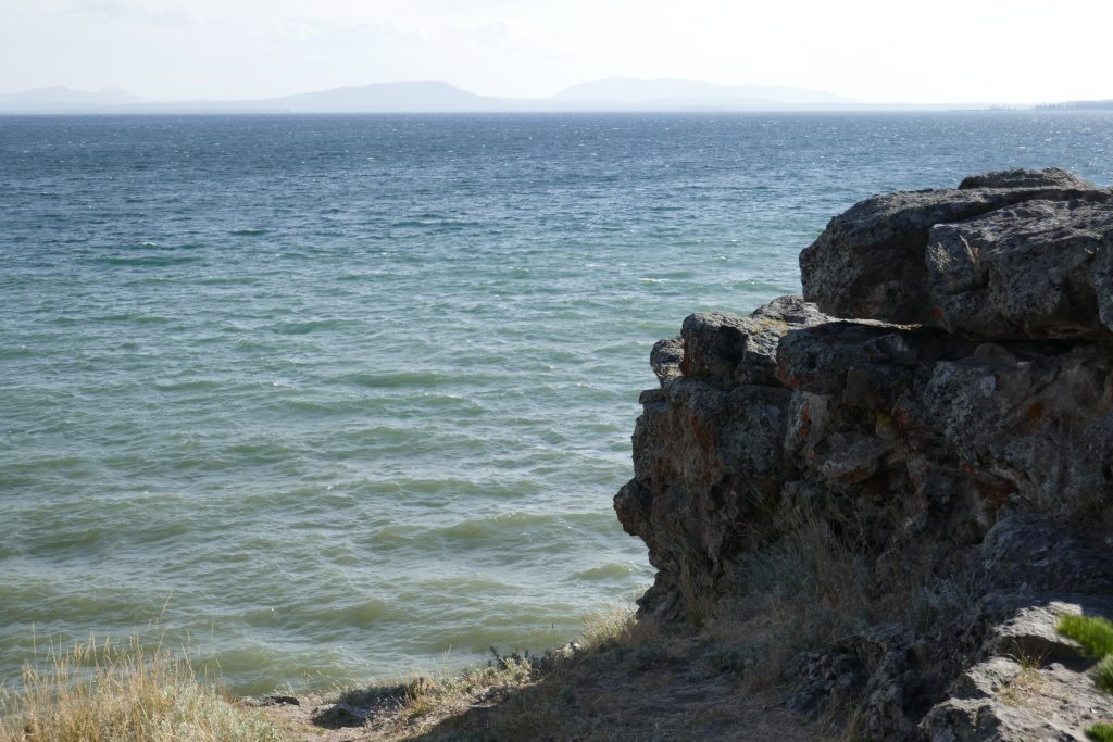 Storm Point, on the northern shore of Yellowstone Lake