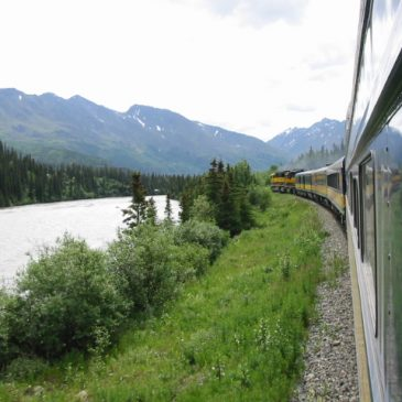Denali, Alaska RR back to Anchorage