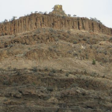 The John Day National Fossil Monument Area