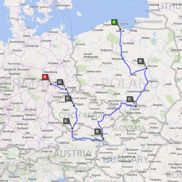 Next #2: Poland, Czech Republic,Slovakia, Germany