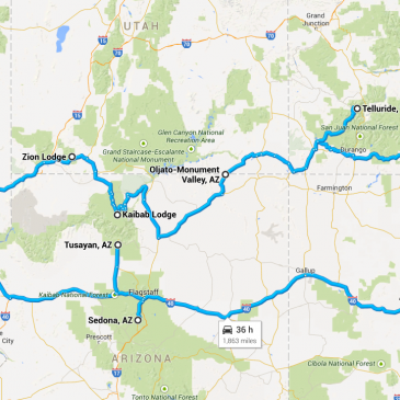 My Southwest Road Trip