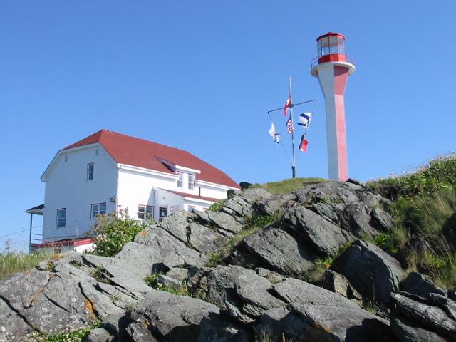 Cape Forchu Lighthouse, Nova Scotia