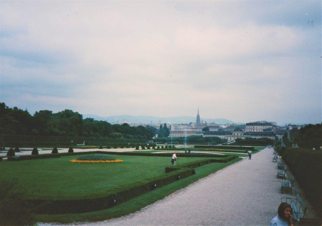 Belevedere Gardens, Vienna