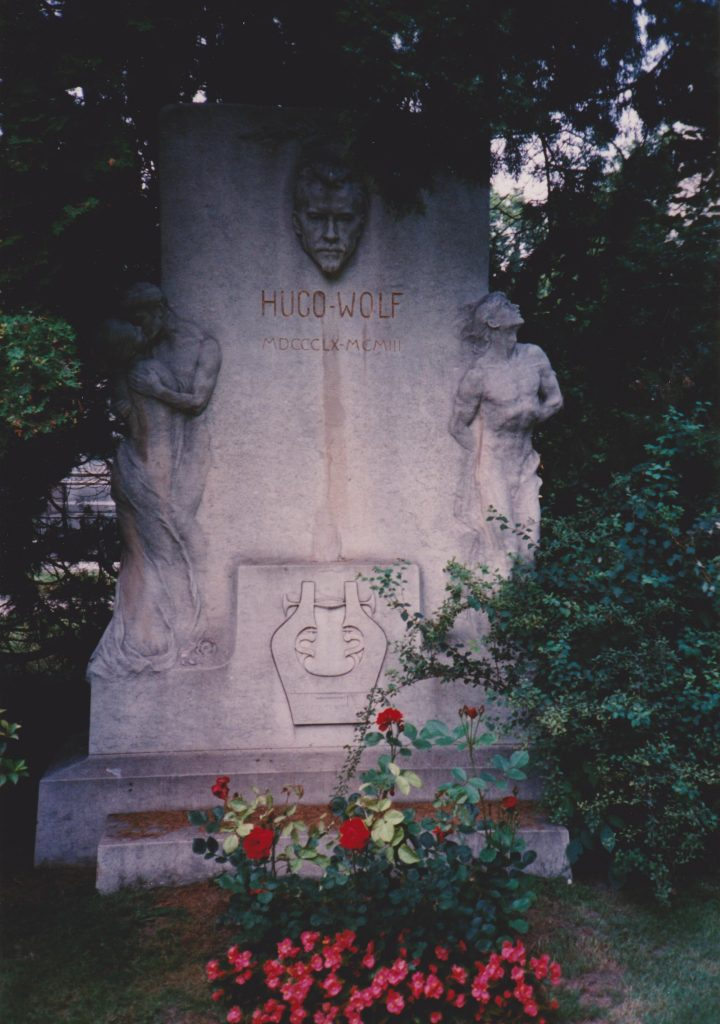 Hugo Wolf tomb