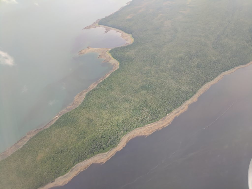 Portland Island, approaching Juneau Airport