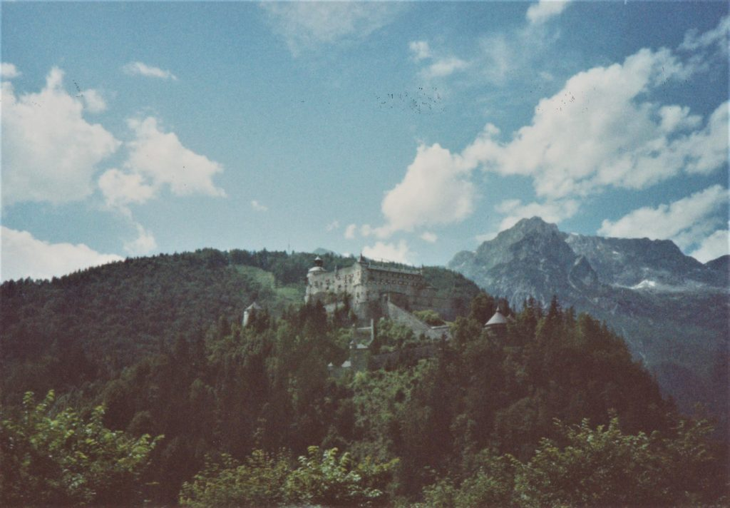 Castle seen from the road