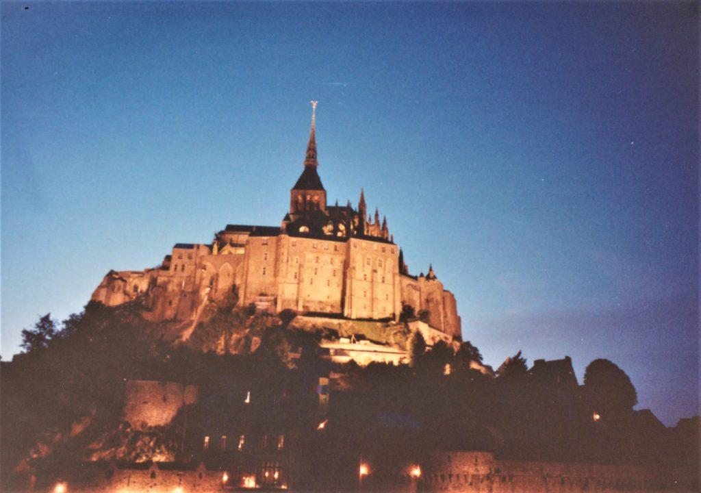 Mont St. Michel evening