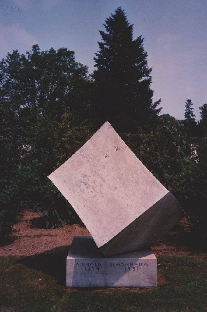 Schoenberg tomb