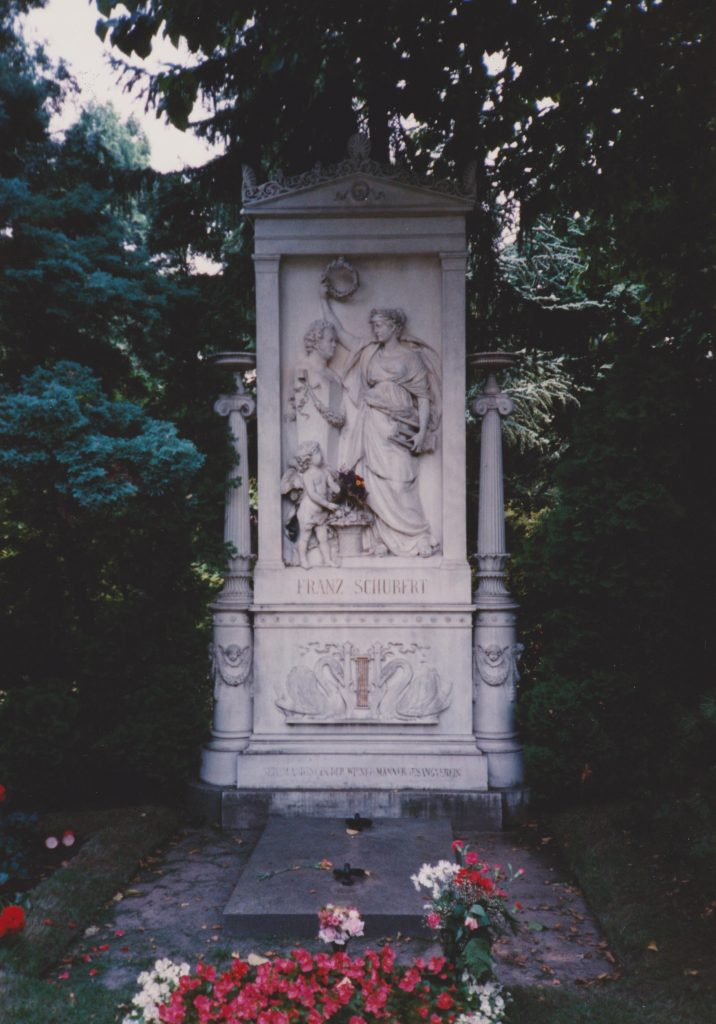 Schubert tomb