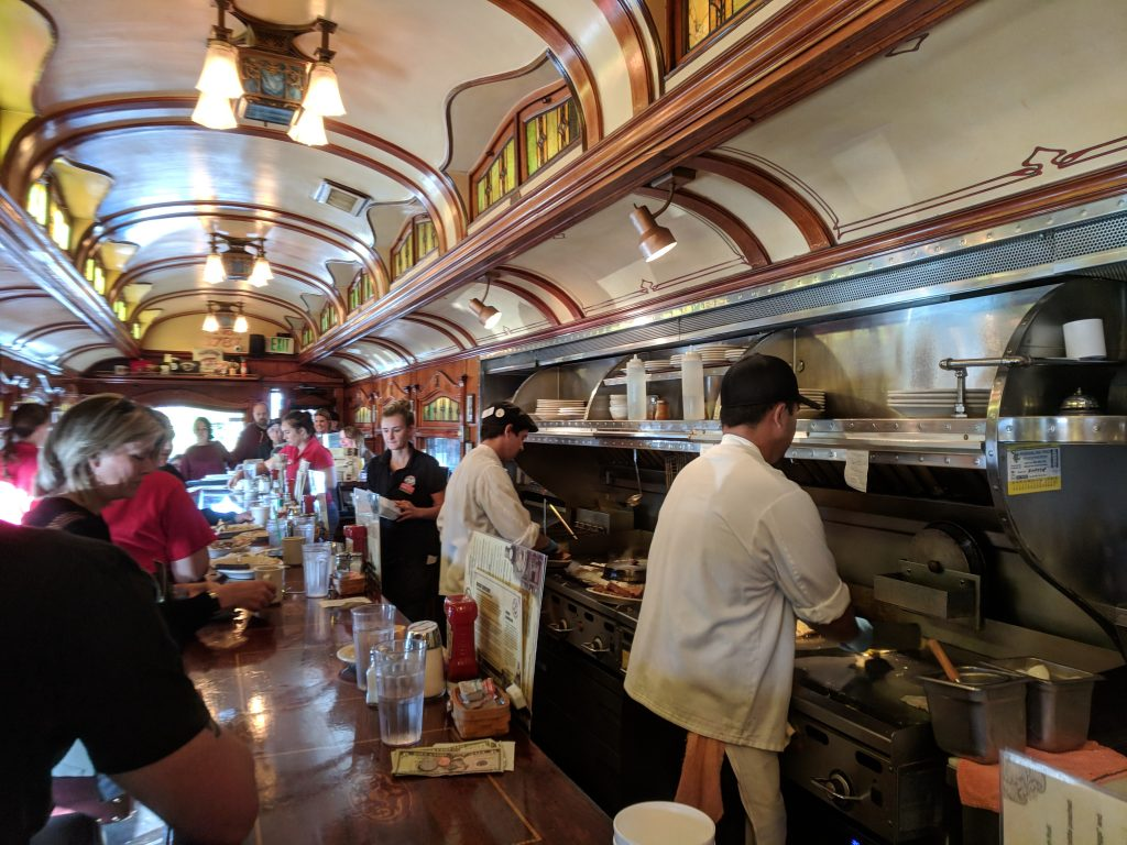 Frank's Diner interior