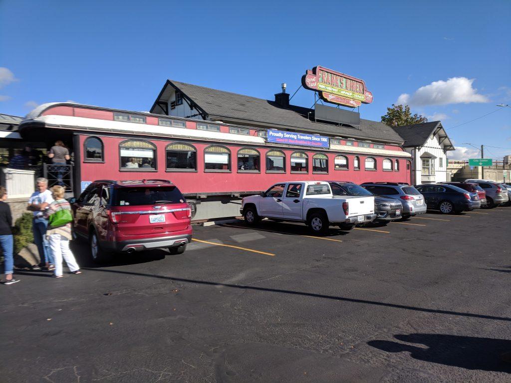 Frank's Diner exterior