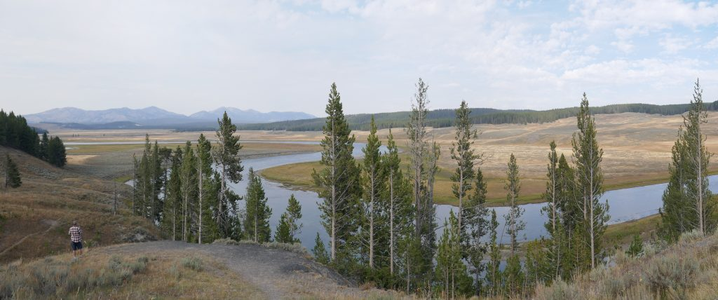 View of the Yellowstone River