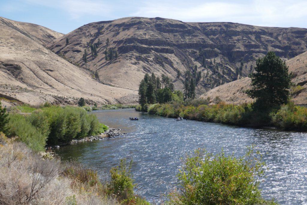 Scene on the Yakima River