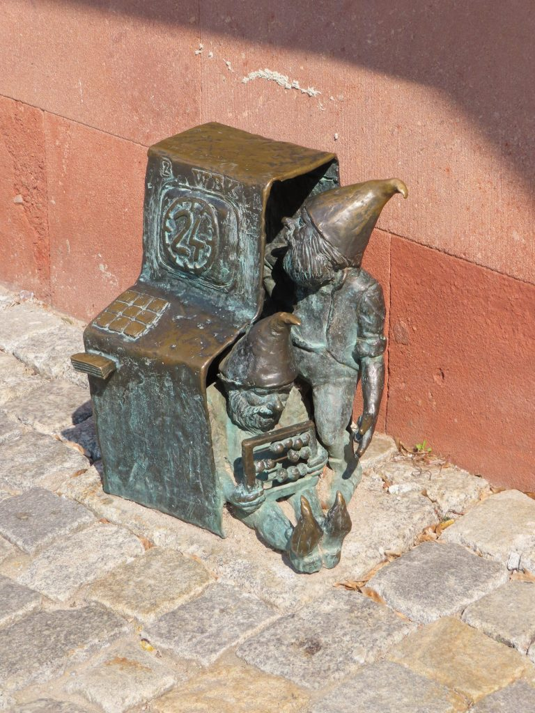 One of the trolls of Wroclaw