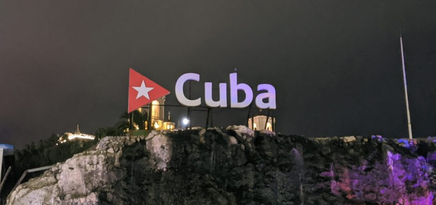 Cuba sign