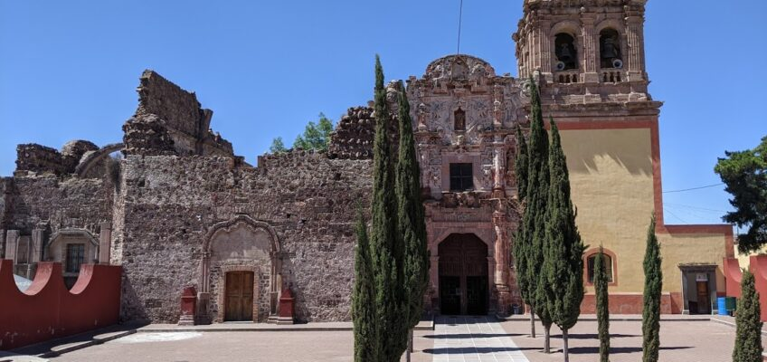 Church in Pinos, Zacatecas