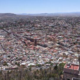 View of Zacatecas from Cerro de la Bufa