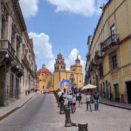 Guanajuato Basilica and street
